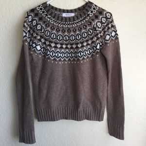 Bailey 44 Embellished Sweater Brown XS